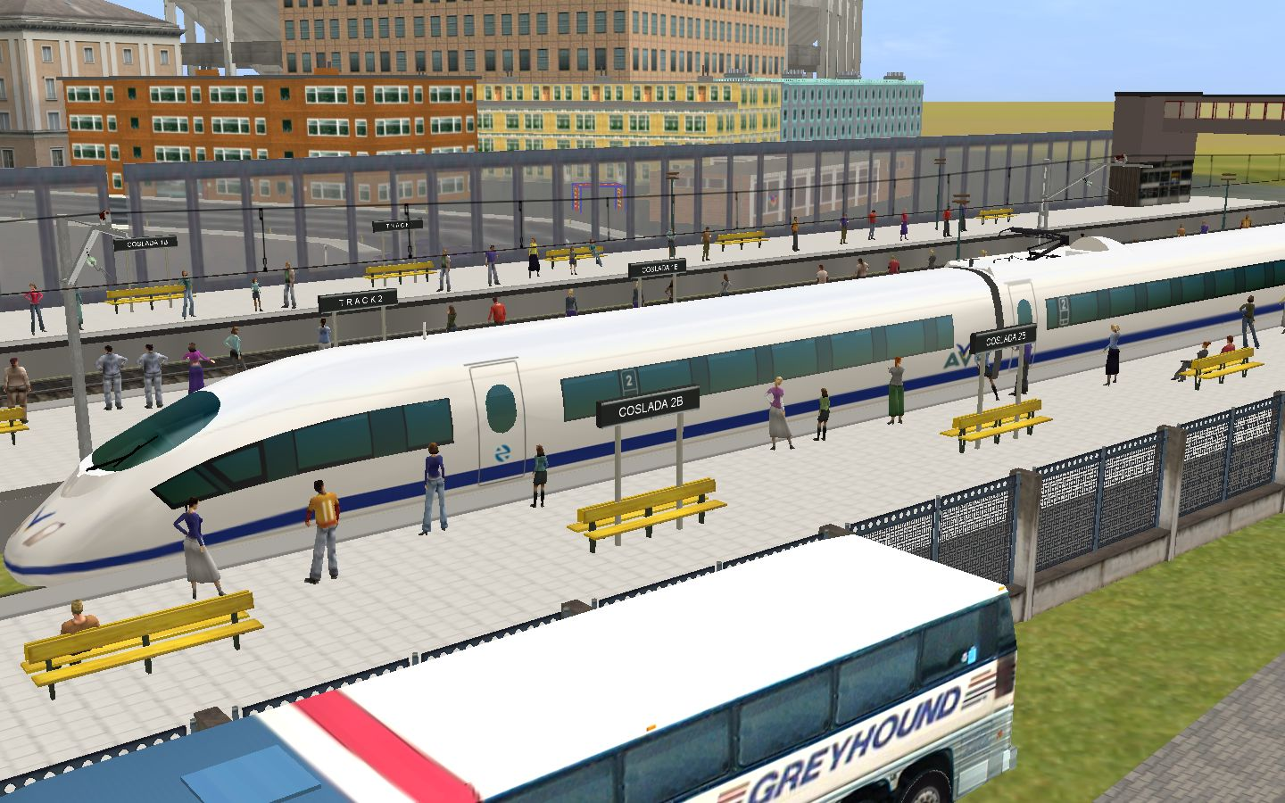 Trainz: TGV - HIGH SPEED TRAIN - AVE