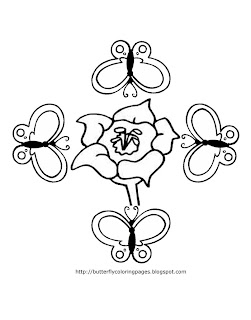 Cute butterfly coloring pages butterfly coloring pages for Cute butterfly coloring pages