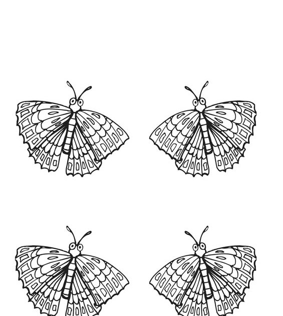 Butterfly coloring pages of monarch butterfly butterfly for Monarch butterfly coloring page