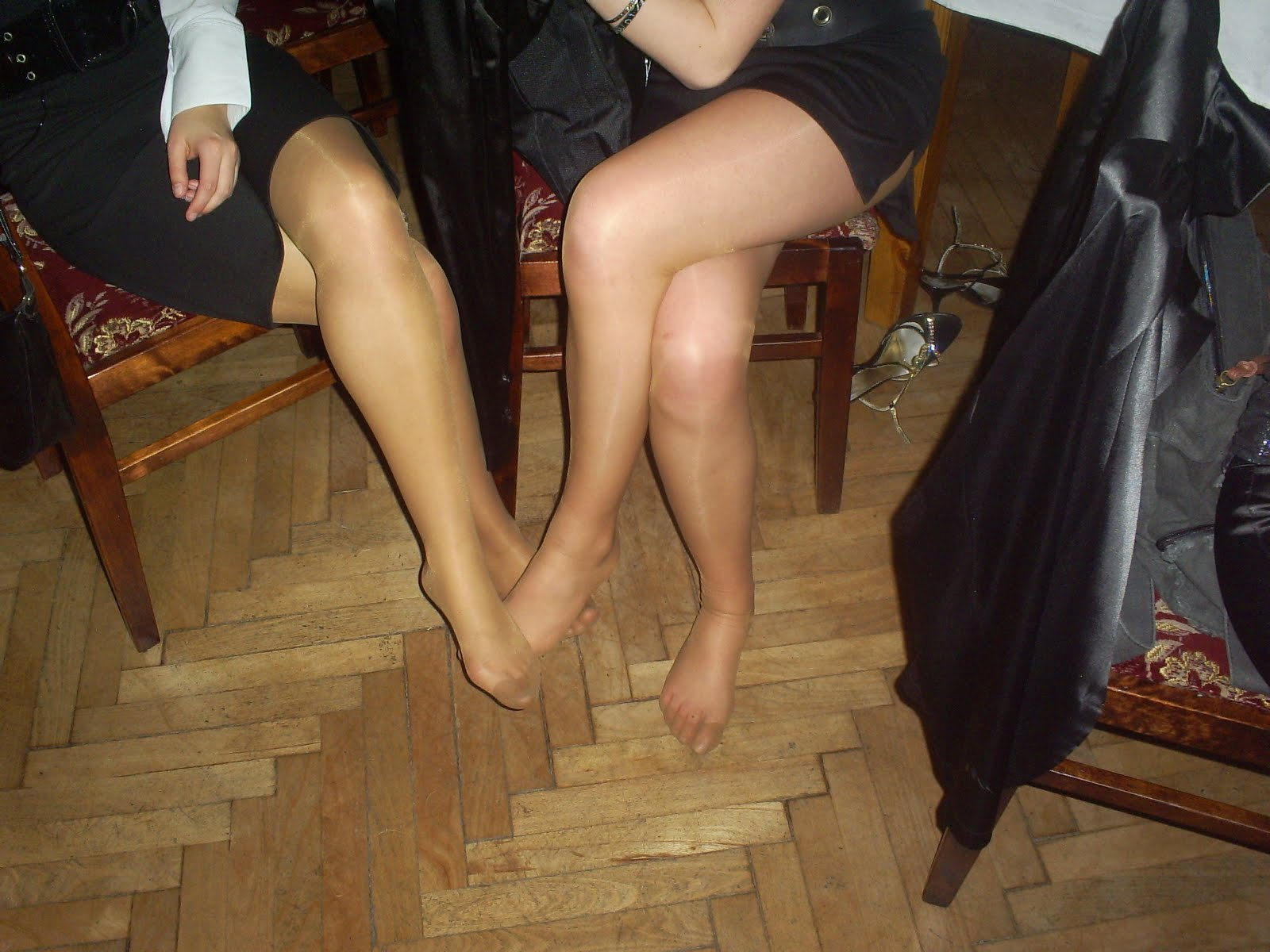 Quality Mature Pantyhose 68
