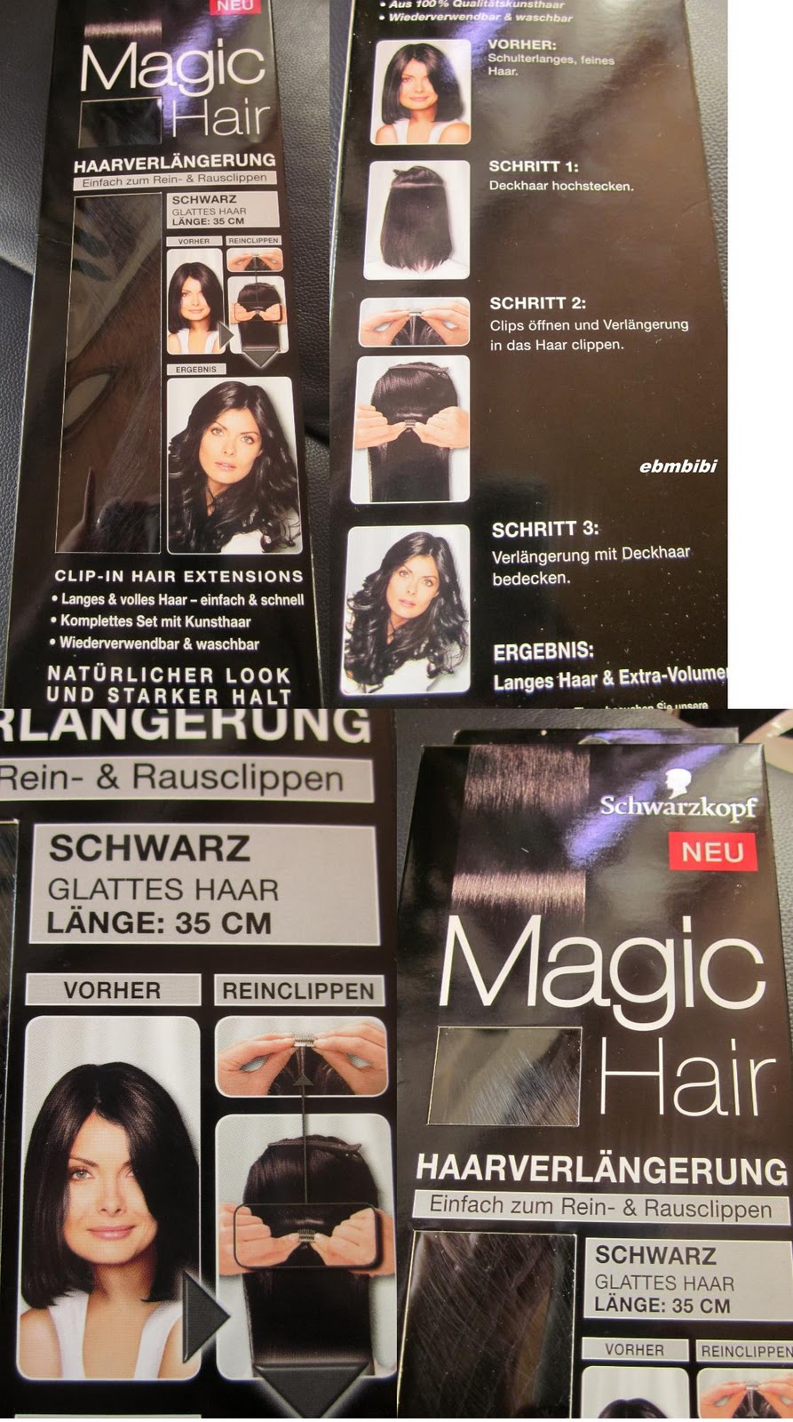 biancas blickfang review magic hair extensions. Black Bedroom Furniture Sets. Home Design Ideas