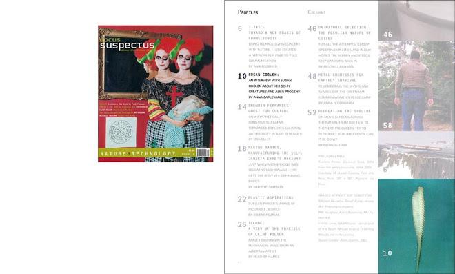LOCUS SUSPECTUS MAGAZINE:Issue 4:Nature & Technology / EDMONTON / FALL 2007