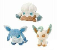 Snover Leafeon Glaceon Plush