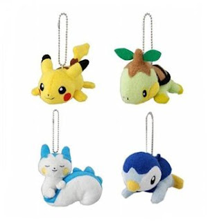 Tomy Mini Plush Keychaine