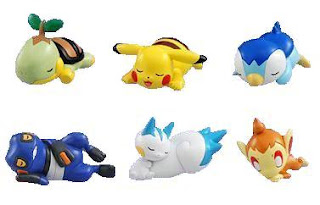 Pokemon dazing pose figures
