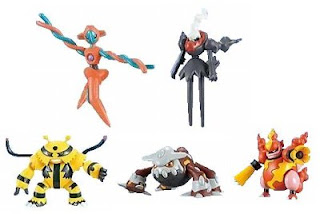 Pokemon Action Figures DP2 Bandai