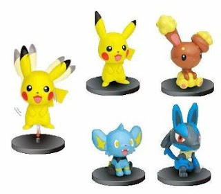Pokemon Swing-head Figure Subarudo