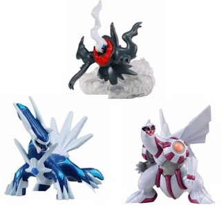 Palkia Dialga Darkrai Battle Scene