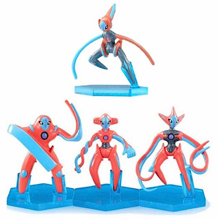 Deoxys 4 forms normal, attack, defense and speed
