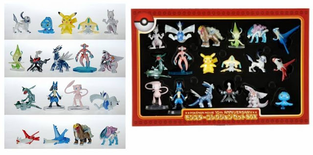 Legendary Pokemon 18pcs box set