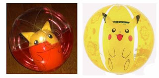 Pikachu Beach Ball