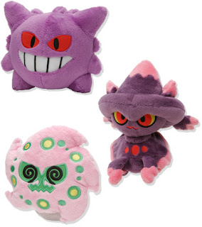 Gengar, Mismagius and Spiritomb