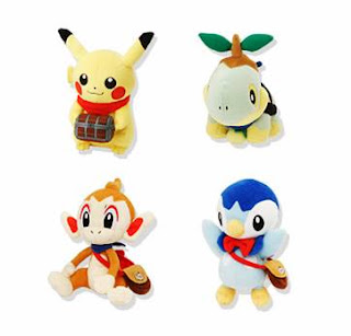 Pokemon Mystery Dungeon Plush