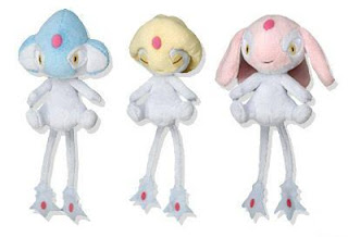 Uxie Mesprit Azelf plush