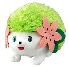 Shaymin Talking Plush Tomy