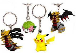 Pokemon Figure Key Holder