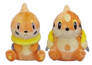 Buizel Floatzel DX plush