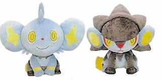 Shinx Luxray DX plush