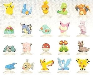 Baprsto Pokemon AG mini figure Ver.3