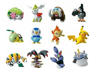 Pokemon Clipping Figure part 4 Bandai