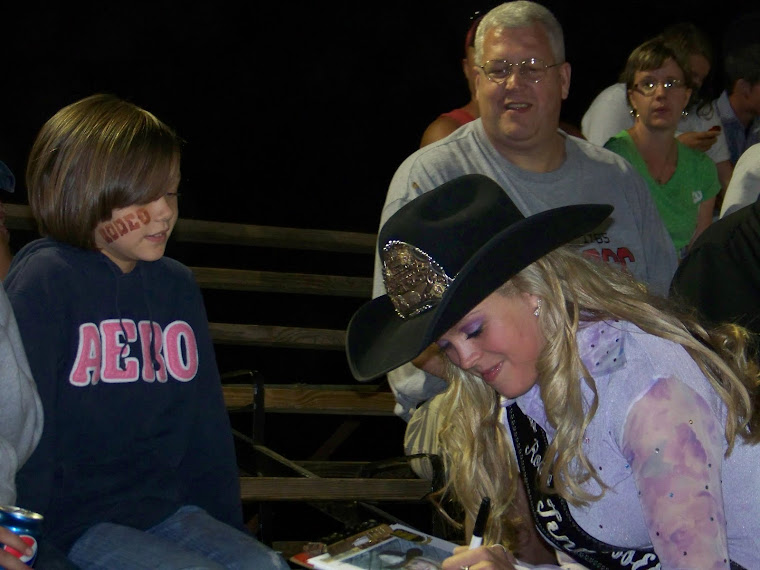2010 Miss Rodeo Tennessee The Adventure March 2011