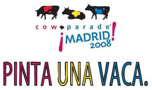 Cowparade madrid 2008. Pinta una vaca
