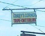 Corey's Corner