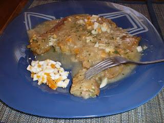 Pencas rellenas de salmón - Receta