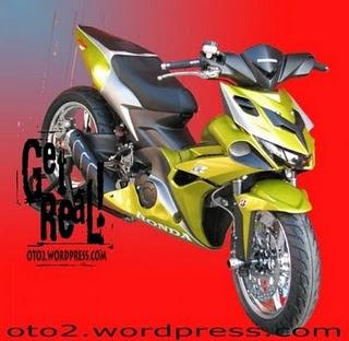 GAMBAR MOTOR HONDA BLADE MODIFIKASI sportbike new release