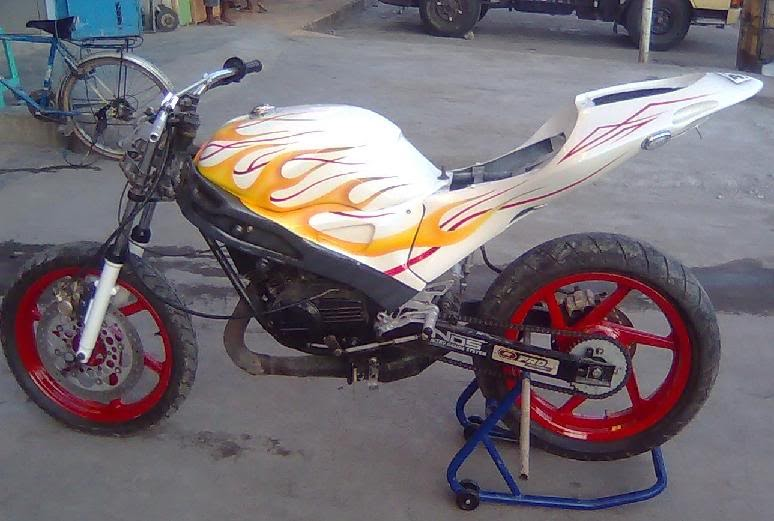 Modifikasi Street Figther Yamaha RX King