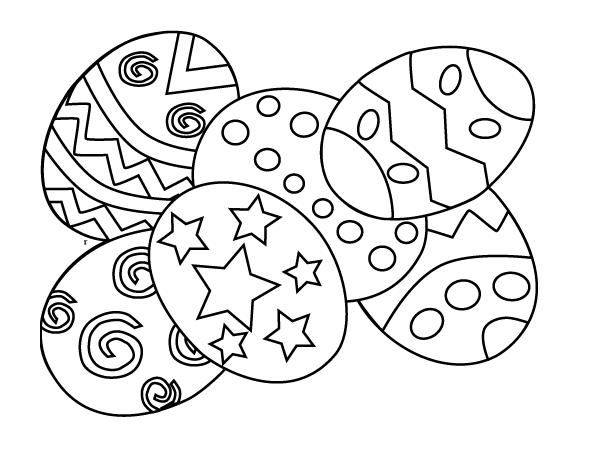 easter egg coloring page - free easter printable coloring pages for kids easter
