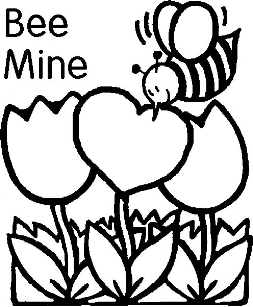 valentins day crafts an coloring pages - photo #33