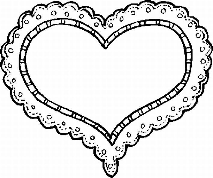 b m valentines day printable coloring pages - photo #12