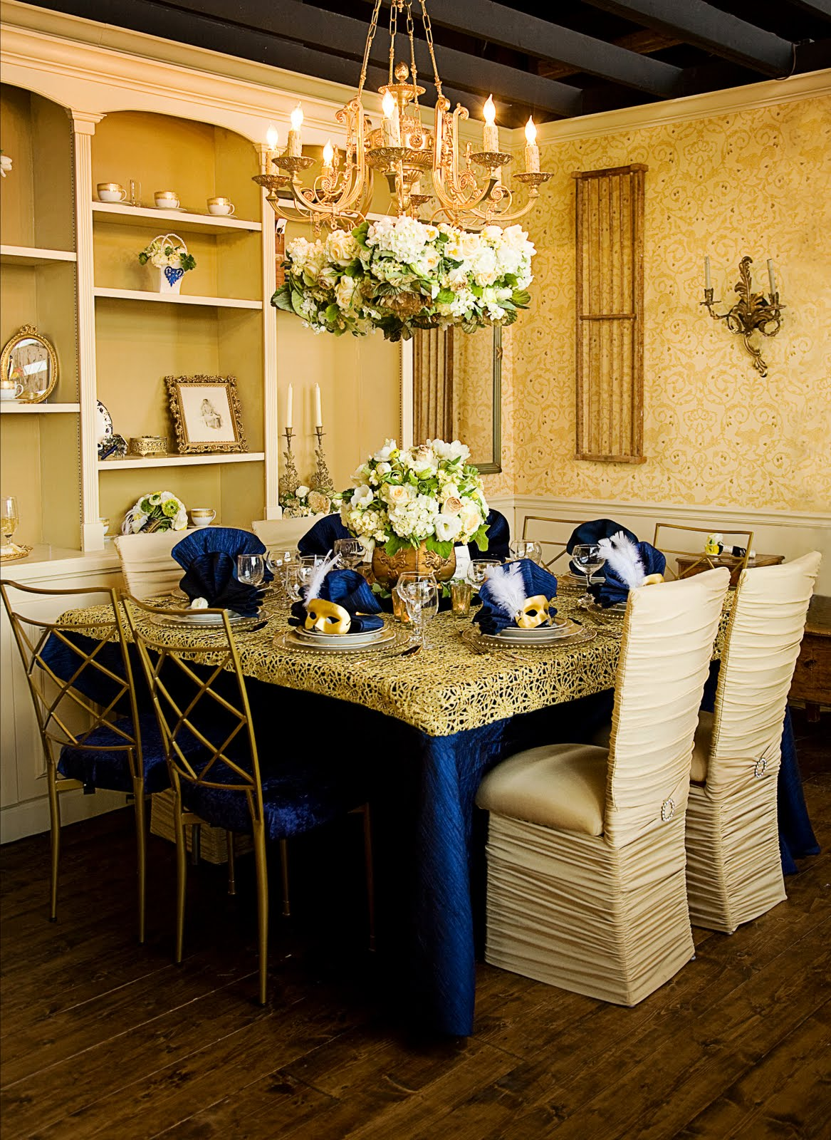 Chair Cover Rentals Memphis Hanging From Ceiling Ikea The Petal Press French Navy And Gold Southern Bride Magazine