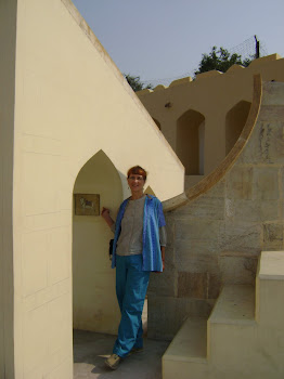 Susan at the Jaipur Observatory