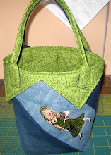 Windrad-Jeans-Tasche