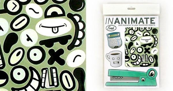 Inanimates Stickers