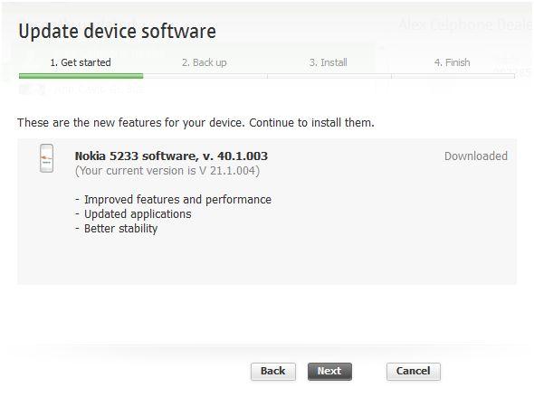 Nokia 5233 Cluthed a Firmware Update ~ SCRATCH e-PAD!