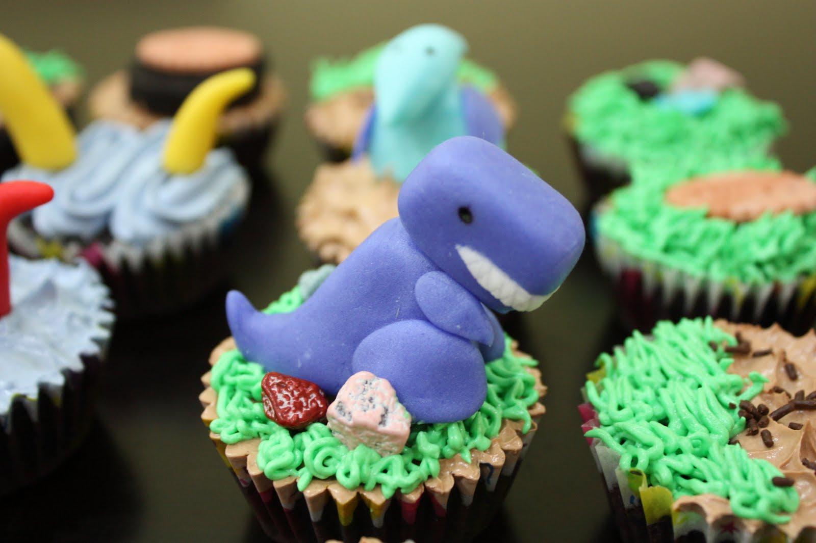 Sheny S Homemade Treats Dinosaurs Theme Cupcakes