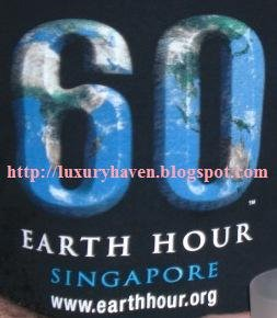 singapore earth hour 2009