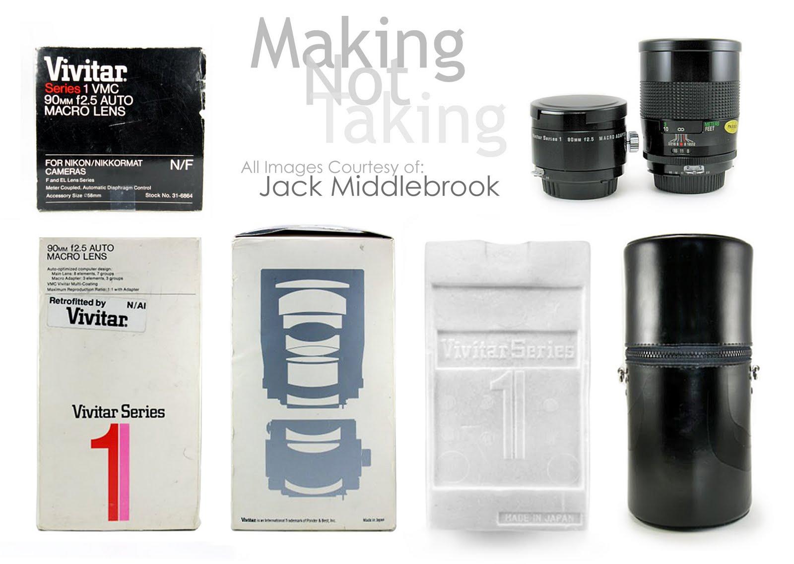 Making Not Taking: Vivitar Series 1 90mm f/2 5 VMC 1:2