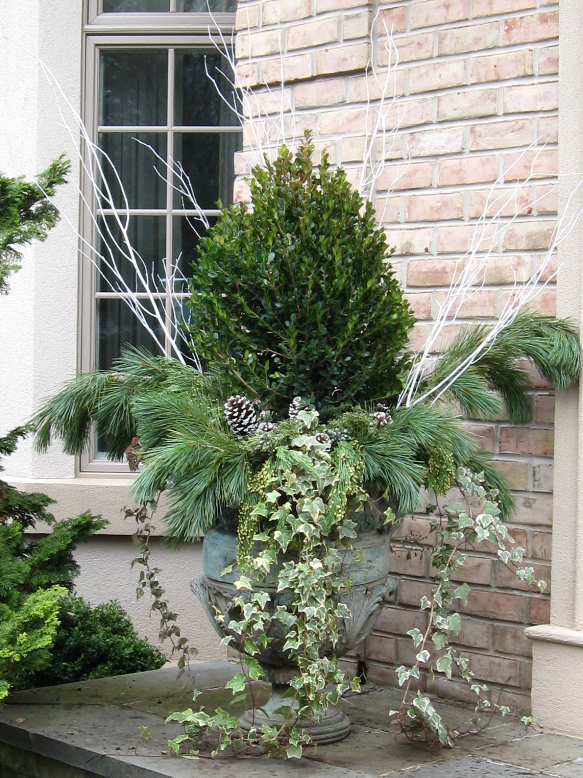 The Designer's Muse: Winter Planters