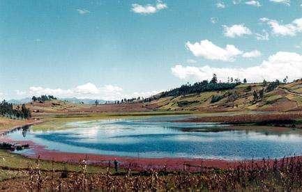 Laguna  de Ushunday - Cajabamba