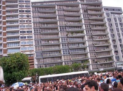 Beija-Flor desfila em Copacabana
