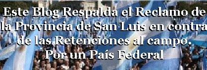 Por un Pais Federal - Apoyo a San Luis