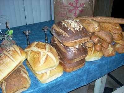 salvaged bread