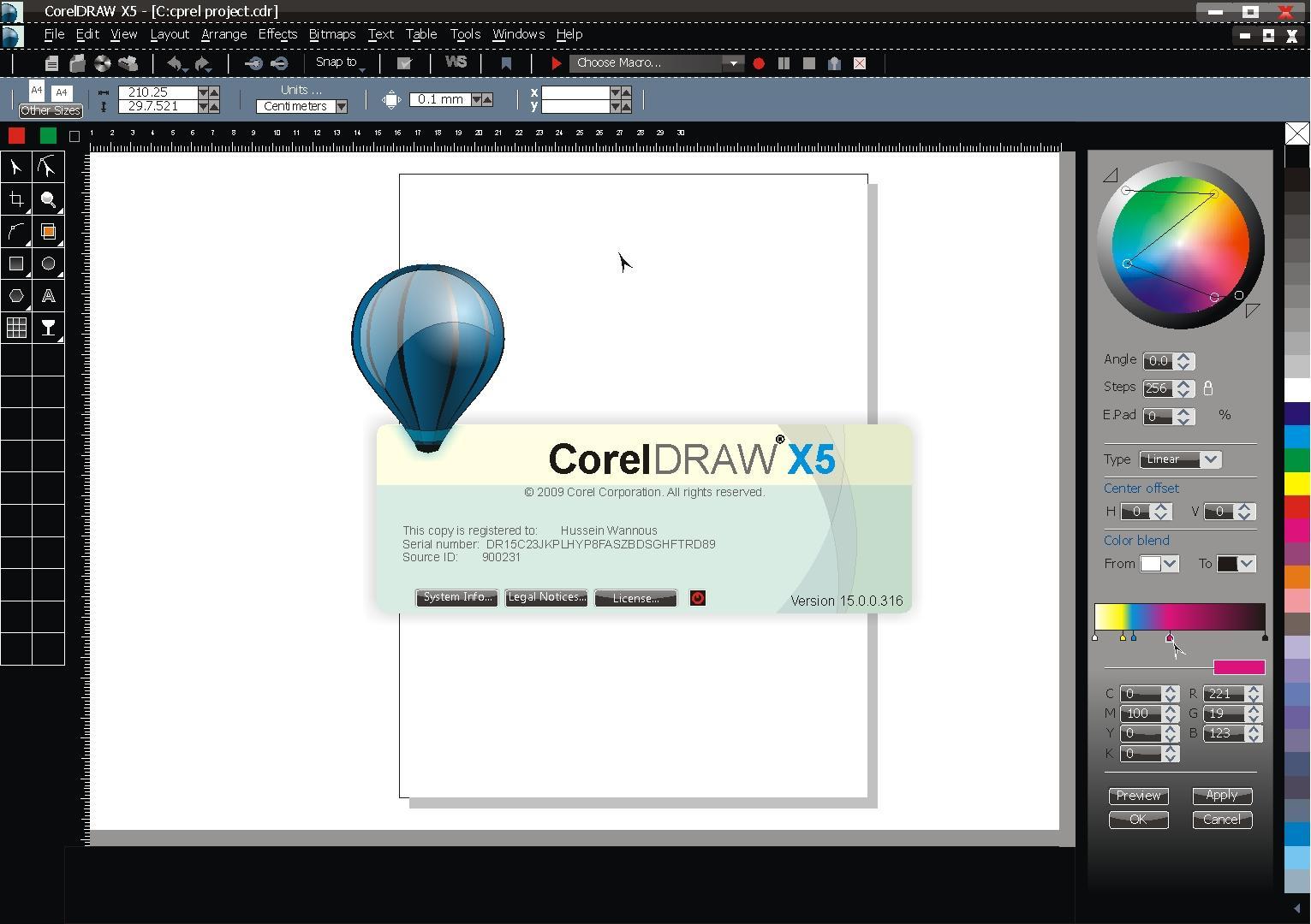 coreldraw graphics suite 13 keygen
