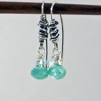Teal Breeze Knotted Dangle