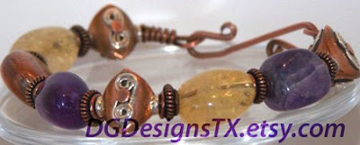 Amethyst Citrine and Copper, Oh My