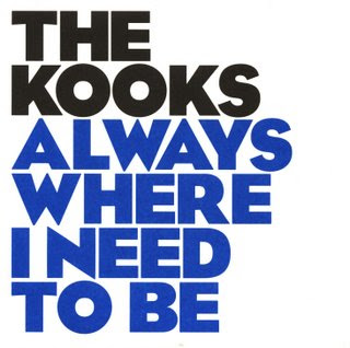 the kooks always where i need to be semblance